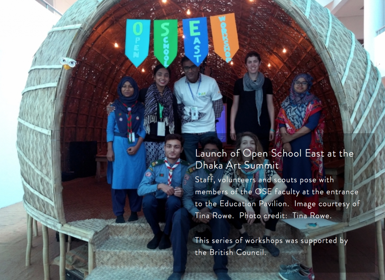 x Dhaka Art Summit Workshop