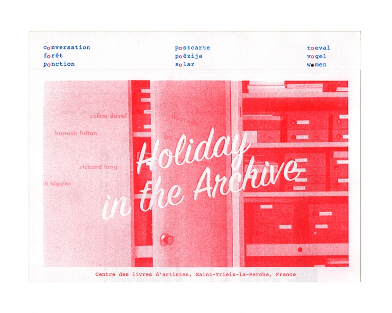 x Holiday in the Archive (cdla)